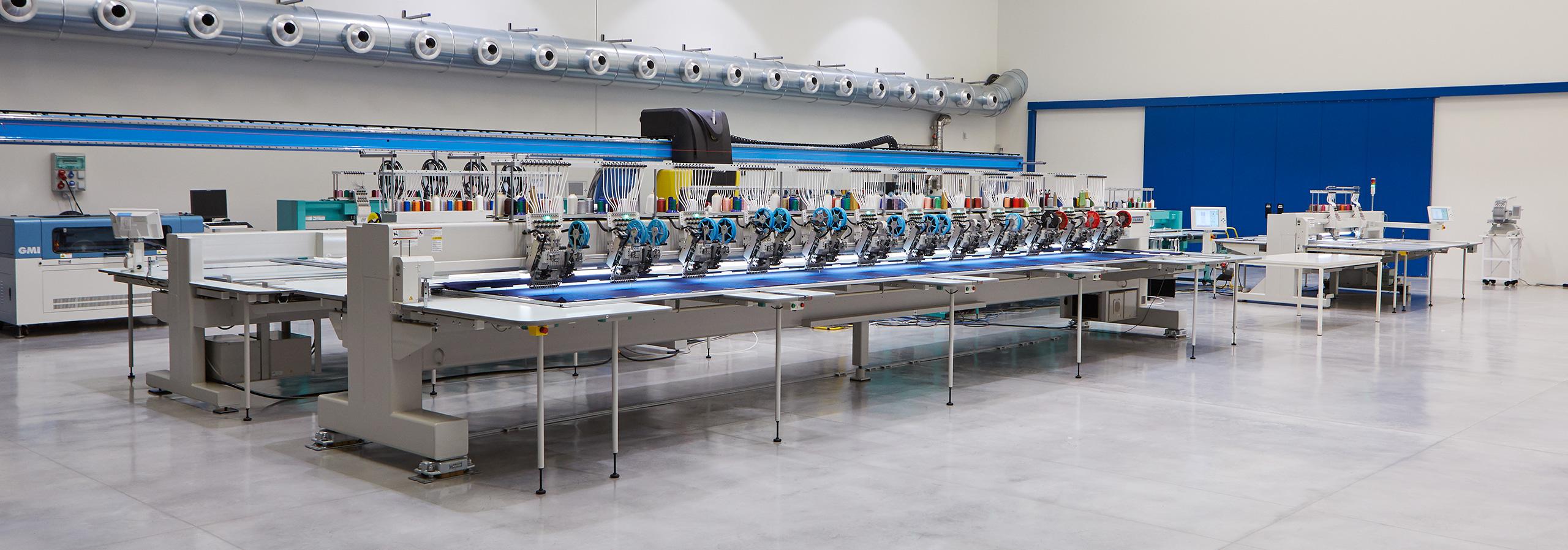 Macchine da Ricamo Industriali Monotesta